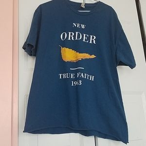 New Order True Faith/1963 T-shirt